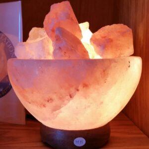 Medium Abundance Bowl Himalayan Salt Lamp