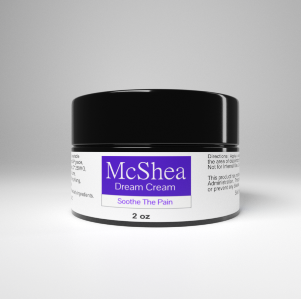 McShea CBD Dream Cream natural pain relief ointment