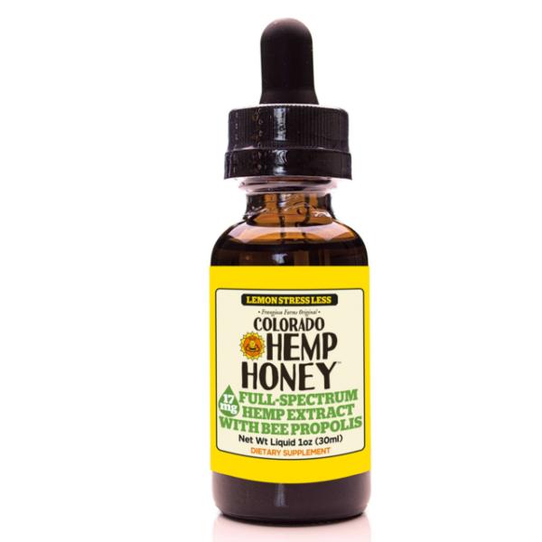 Lemon Stress Less with Bee Propolis Tincture