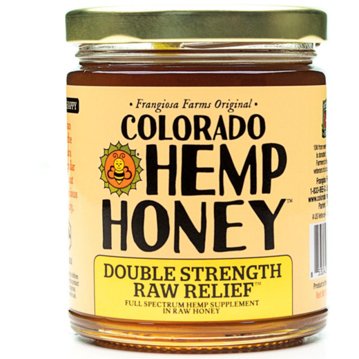 Double Strength Raw Relief Honey