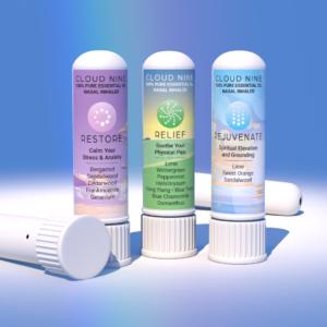 100% Pure Essential OilNasal Inhaler 3 pack