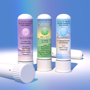 100% Pure Essential Oil Nasal Inhaler 3 pack
