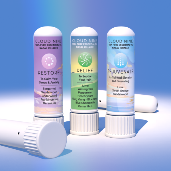 100% Pure Essential Oil Nasal Inhaler 3 pack
