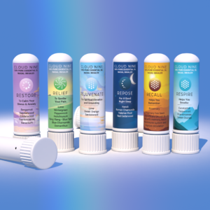6 AromaTherapy Nasal Inhalers
