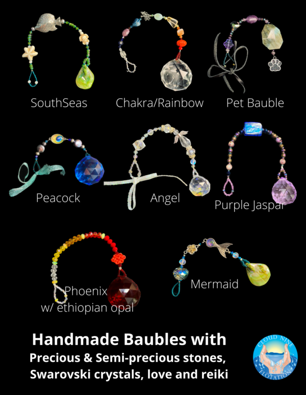 Baubles for Window Decor